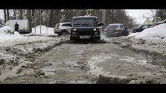 50 shades of dirt (_cher) Tags: russia izhevsk winter snow dirt car niva olympus mft m43
