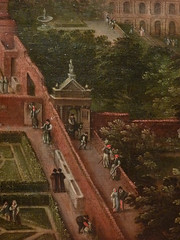 CLEVE (van) Hendrick III ,1580 - Vue sur les Jardins du Vatican et la Basilique St-Pierre (Custodia) - Detail 21 (L'art au présent) Tags: art painter peintre details détail détails detalles painting paintings peinture peintures 17th 17e peinture17e 17thcenturypaintings 17thcentury detailsofpainting detailsofpaintings tableaux custodia custodiafoundation paris france hendrickiiivancleve hendrick hendrickiii cleve vancleve dutchpaintings peintreshollandais dutchpainters jardinsduvatican basiliquestpierre basilique basilica stpierre jardins gardens parc park vatican italie italia italy church panorama landscape house houses maisons figure figures people personnes plaisirs jeux games game fun play pleasure montagnes mountain mountains abruzzes 7collinesderome rome roma sevenhillsofrome saintpierrederome saintpierre