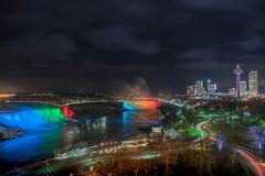 Superficial (anthonyronchi) Tags: casino zeiss sonya7rii lights neon water waterfalls longexposure niagarafalls