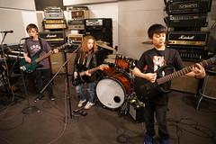 DSC03094 (NYC Guitar School) Tags: nyc guitar school nycgs 22417 showcase winter camp kids teens ultrasound new york city performance rock roll drums bass pizza party plasticarmygirl samoajodha samoa jodha