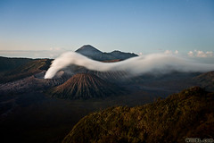 Bromo Pre-Dawn (Burrard-Lucas Wildlife Photography) Tags: indonesia stars volcano java smoke steam east volcanoes prehistoric bromo