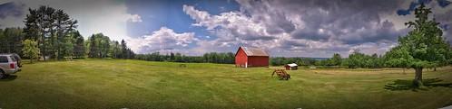 270 degrees of Yates Farm  - 12 shot stitch