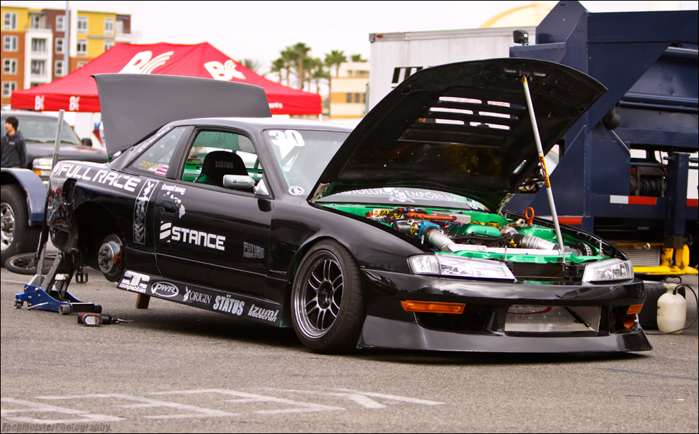 Old Shot: Forrest Wang D1GP in the Pits