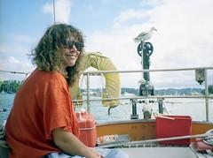 920220 Gunkholing with Rhonda (rona.h) Tags: newzealand rhonda 1992 february bayofislands cacique ronah opua vancouver27 bowman57