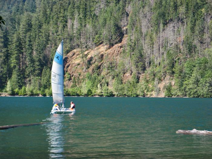 Lake Sailing