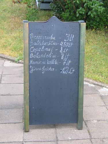 Ne pačios didžiausios kainos Šventojoje