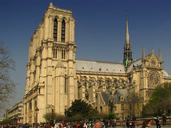 The Cathedral viewed from the South (Storm Crypt) Tags: roof sculpture france building art church parish architecture facade french europa europe catholic cathedral spires gothic arts structures statues notredame architect artists catholicchurch christianity marble gargoyles artisans carvings notredamecathedral finearts gothicarchitecture plazza gothicbuilding kilometerzero frencharchitecture frenchchurch churchfacade ourladyofparis catholicchristians parisparish churchofkingsofeurope catholiceurope