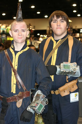 Vault Dwellers from Fallout