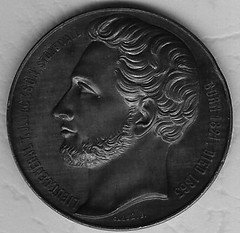 Stonewall Jackson Medal by Caque reverse