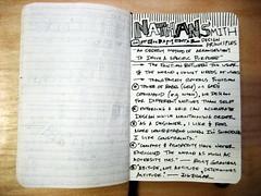Echo '09 Sketchnotes - Nathan Smith (Joshua Blankenship) Tags: moleskine nathansmith sketchnotes echo09
