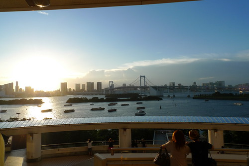 Sunset at Odaiba