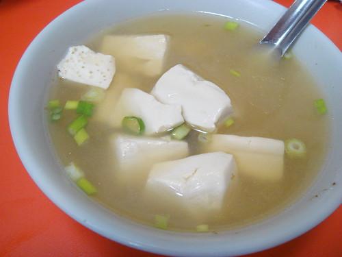 正斗六炊仔飯 - 豆腐湯