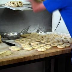 St-Viateur Bagel - Making the Bagels