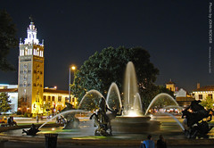 Country Club Plaza, 5 August 2009 (photography.by.ROEVER) Tags: nightphotography summer architecture night august kansascity missouri nightphoto kc 2009 countryclubplaza kansascitymo jacksoncounty kansascitymissouri nicholsfountain kansascitymetro kcmetro august2009 dsch50 kansascityatnight nprsummer