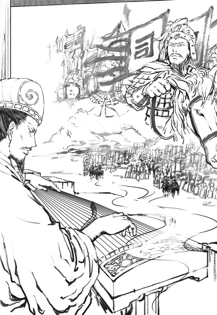 混蛋为什么我画司马懿和诸葛亮也能画出JQ!还是我错觉? - matsuki - 腐爛之地—matsuki