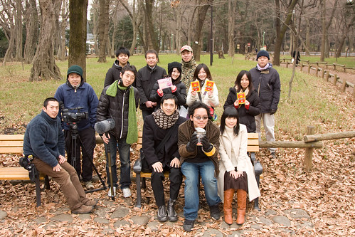 KINGYO cast and crew. January 2009
