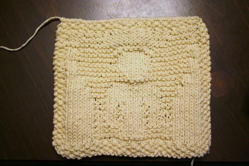 Test Knit Dishcloth