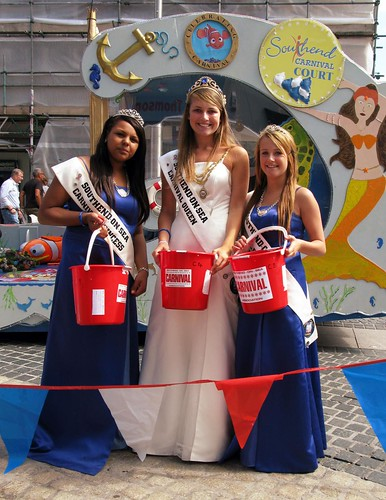 Southend Carnival Week - Carnival Queen & Princesses by DBullock.com.