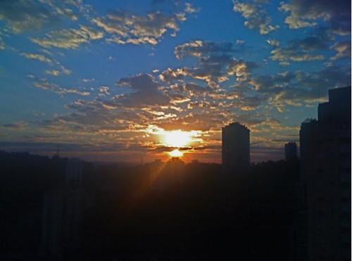 Por do Sol por Solla
