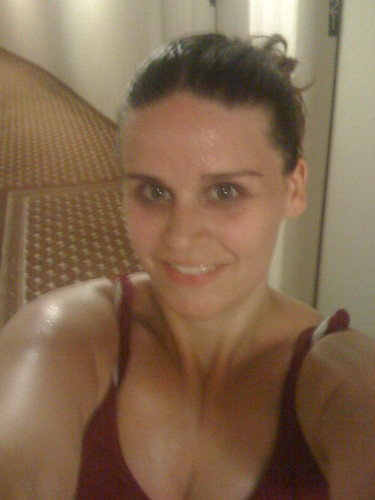 Post-run. I love humidity.