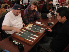 Backgammon Action (play65) Tags: sports games backgammon play65 nordicopen