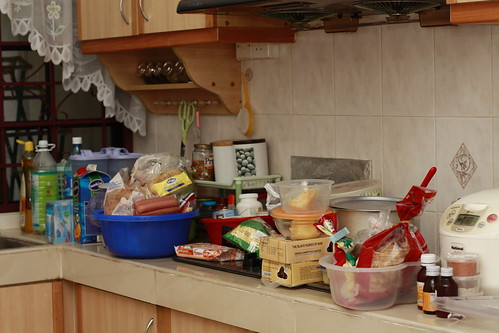 Image result for dapur tak kemas