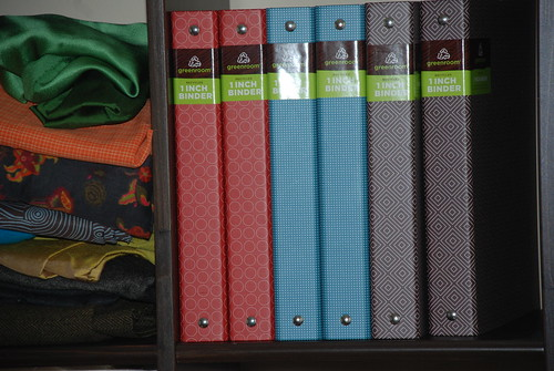 New Binders in my favorite colors! by you.