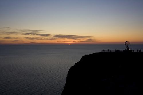 Nordkapp cliff