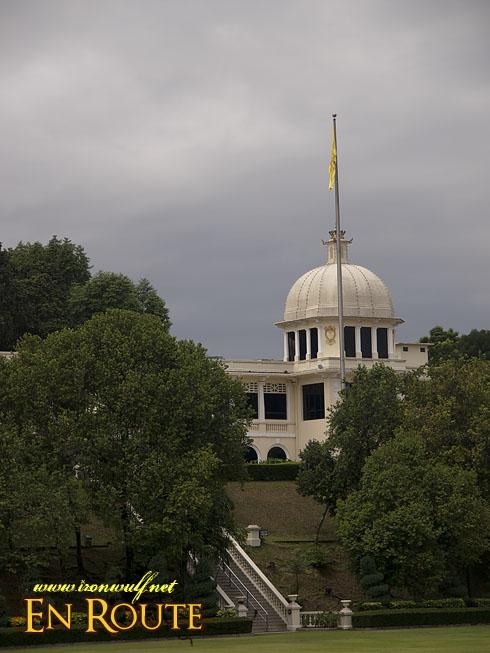 Istana Negara Palace fom afar