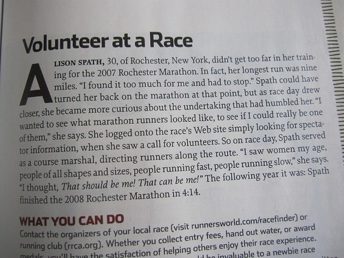 Runner's World, October 2009