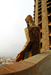 Gaudi's Jesus (Missjennerator) Tags: barcelona art architecture temple spain jesus gaudi sagradafamillia