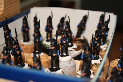 Bavarian infantry