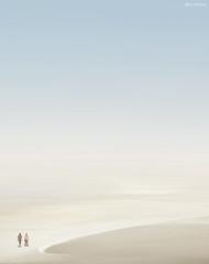 Nothing Can Happen to Us (Ben Heine) Tags: life light sky woman man blur france love beach composition landscape freedom seaside couple holidays soft time path walk lumire duo horizon softness peaceful philosophy poetic nikond70s romance relationship together amour libert enjoy harmony unknown romantic void minimalism freetime allegory paysage ensemble normandy plage minimalist emptiness infinite merge flou symbolism digitalphotography vide handinhand mild douceur humancondition philosophie paire doux relation razem taishi infini romeoandjuliette wolnosc desaturatedcolors benheine maindanslamain benjaminheine conditionhumaine conceptualphoto hubertlebizay flickrunitedaward infotheartisterycom