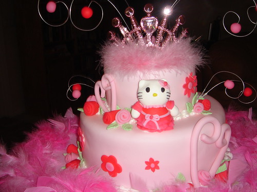Hello Kitty/ Princess cake