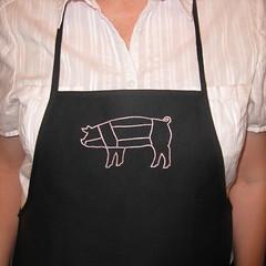 Pig Parts Apron