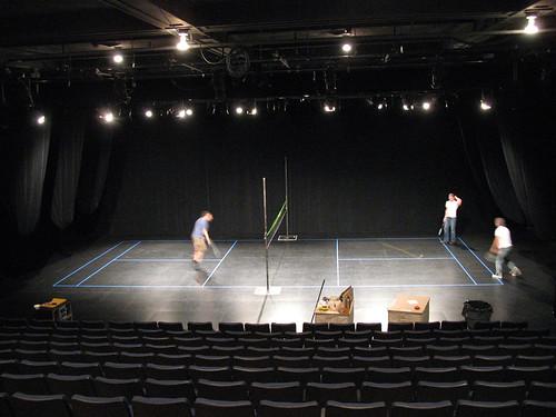 Badminton Royale prep