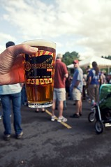 And now, let the festivities begin! (shetha) Tags: beer festival oregon canon portland eos biking ipa pint 2009 cpl canonef1755mmf28is 40d imperialipa hopworksurbanbrewing biketobeerfest aceofspadesipa envymeyoushould ifyouwerenothere