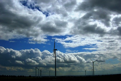 Stratocumulus / Wind Farm