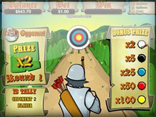 free Prince of Sherwood slot bonus game