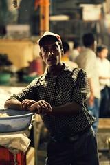 New Portrait 1 (Sai Abishek) Tags: park new portrait india fish man pose market delhi burns cap scars cr bengali disfigured