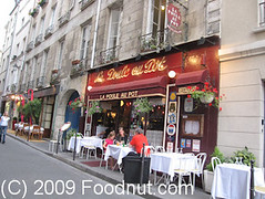 La-Poule-Au-Pot-Paris-France-Exterior-Decor (foodnut.com) Tags: food paris france restaurant bistro foodporn foodie frenchrestaurant 1starrondissement exteriordecor lapouleaupot foodnutcom