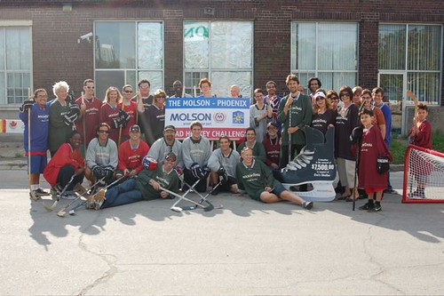 Molson - Phoenix Road Hockey Challenge 09