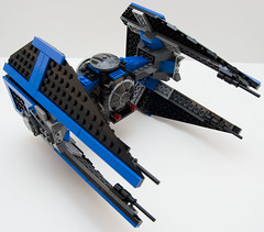 6206 tie fighter front right (Big Cam crsx) Tags: starwars lego 6206