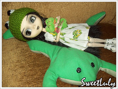 32/365 - Pullip Frog - Dark Version (SweetLuly) Tags: dolls pullip kimberly sapos chill pullipchill polypop gizamartins pullipfrog 365kimimia