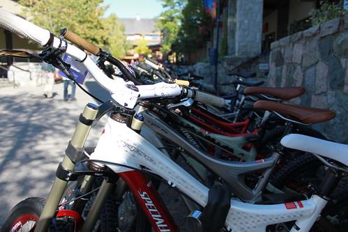 The Mountain Bikes