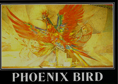 "Famous Az. Artwork ""The Phx. Bird"""