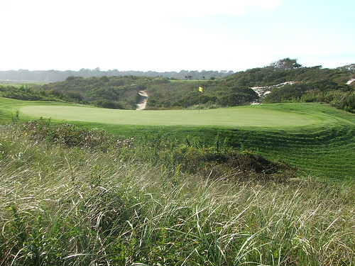 14th hole from behind