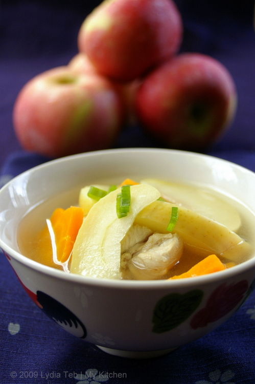 Apple Chicken Soup