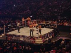 Hart Dynasty (Tyson Kidd and David Hart Smith) vs Cryme Tyme (Shad and JTG)