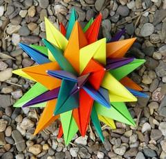 TUVWXYZ Star von Meenakshi Mukerji (Tagfalter) Tags: origami modular planar